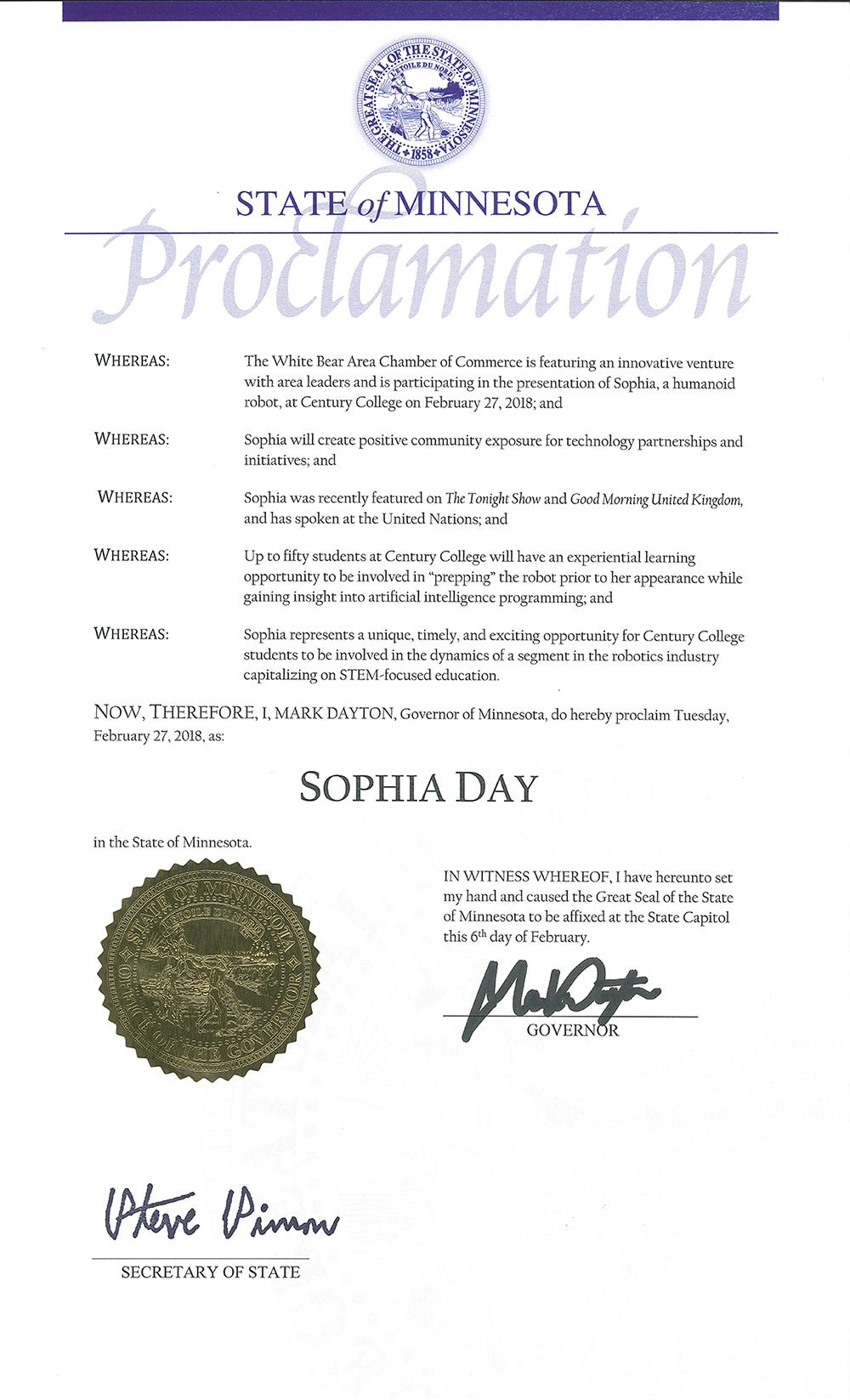 SophiaDay_Dayton_proclamation
