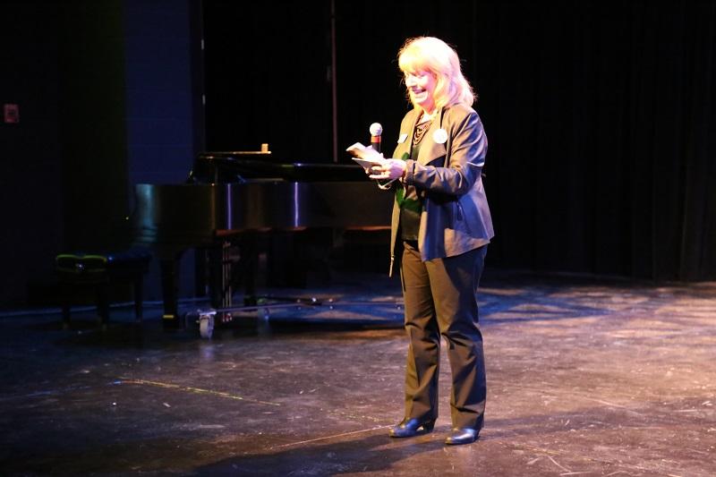 Century College 50th anniversary talent show participant Jill Greenhaulgh