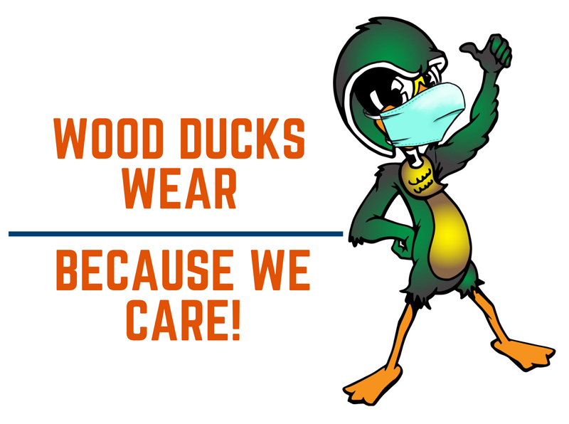 Wood Ducks wear because we care!