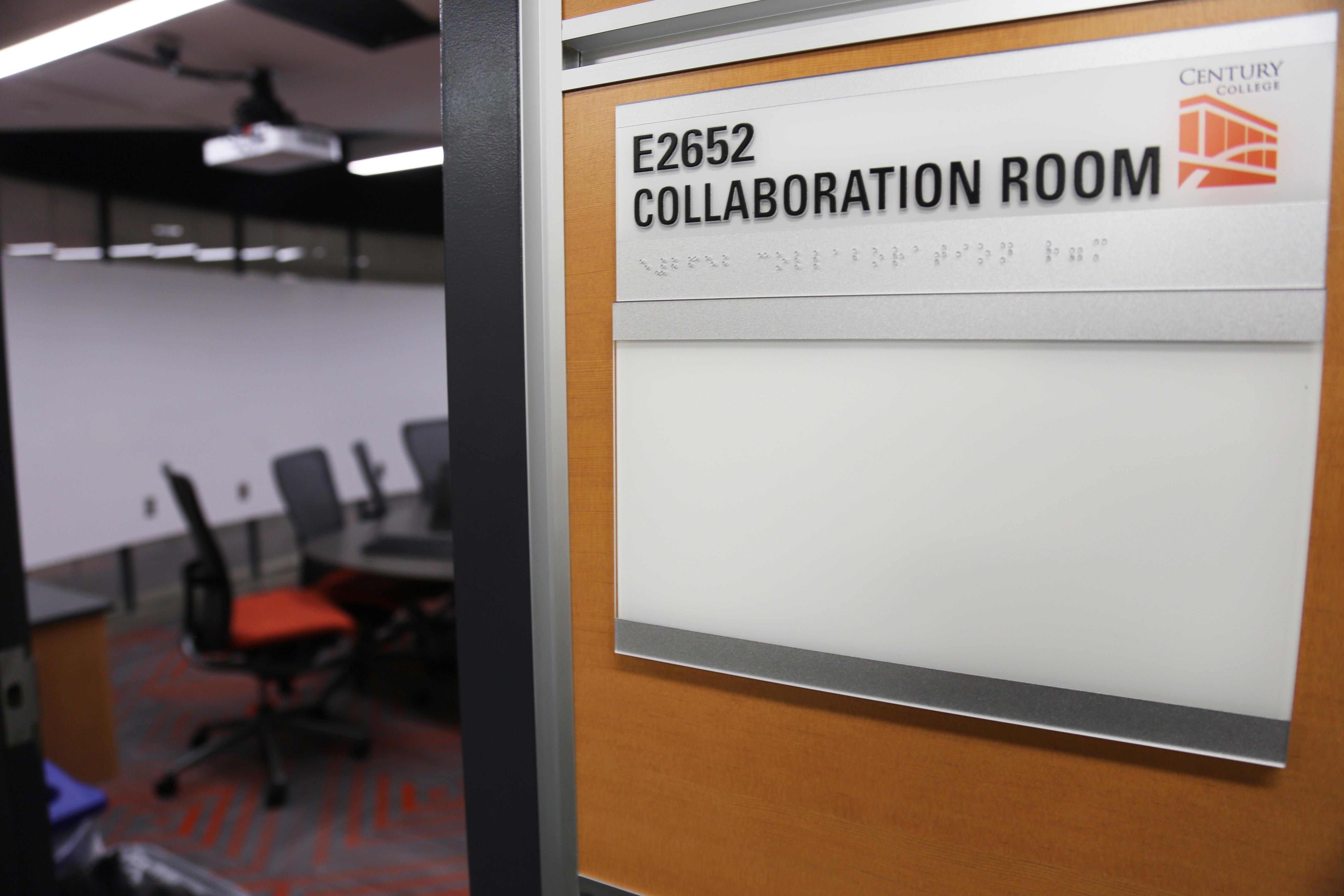 Image of Fab Lab collaboration room.