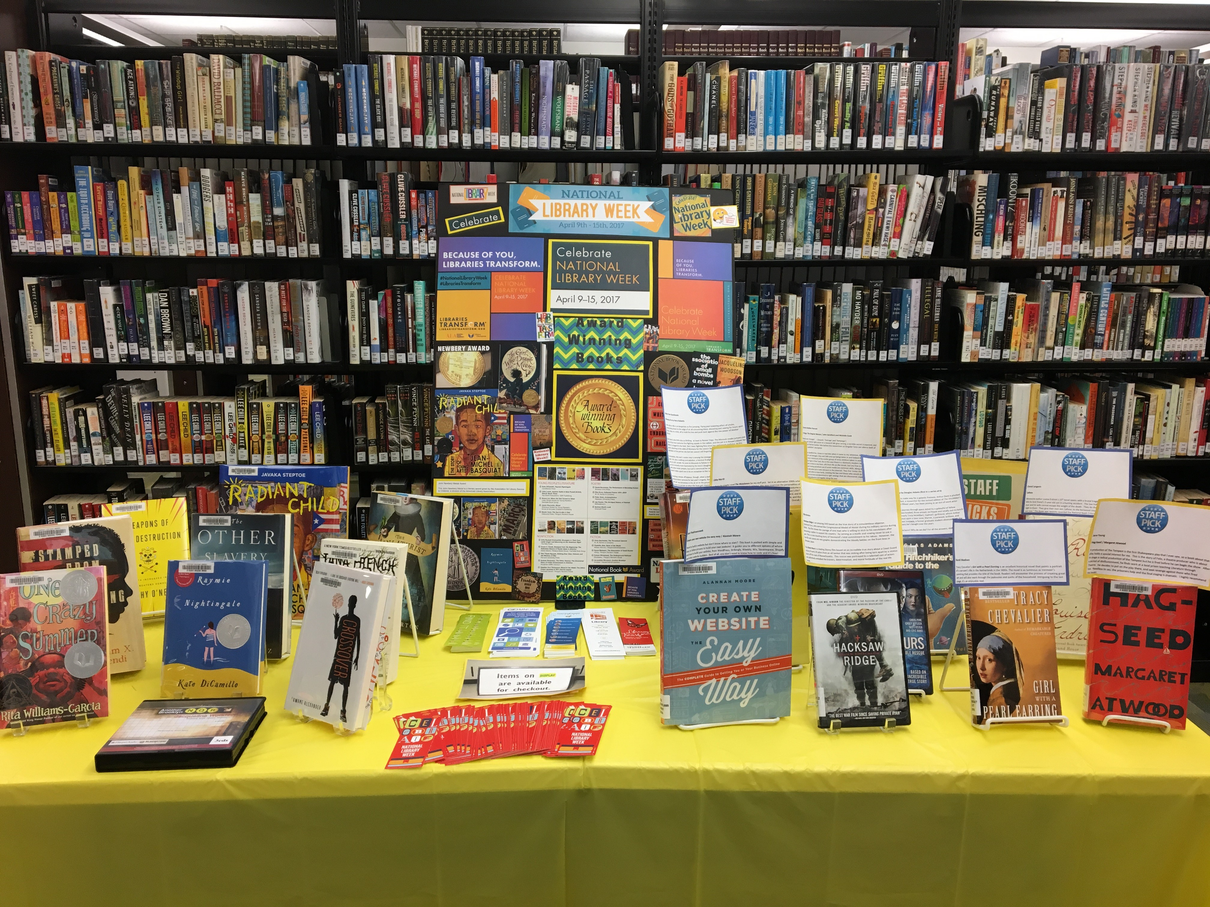National Library Week Book Display
