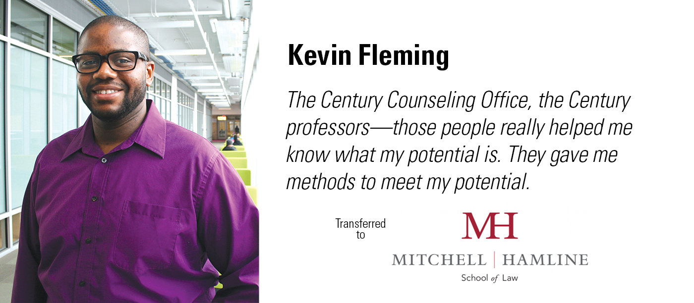 Century College alum Kevin Fleming