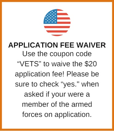 Veterans Application Waiver