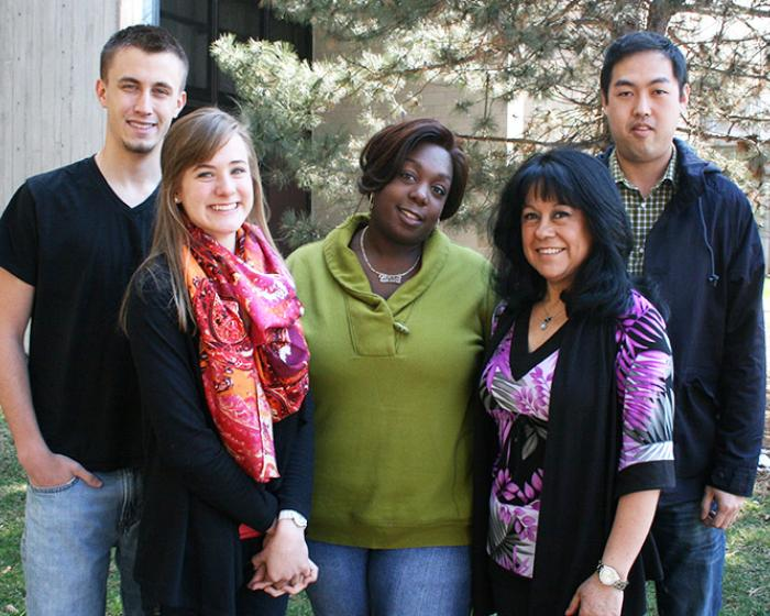 Image of Cost and Financial Aid staff.