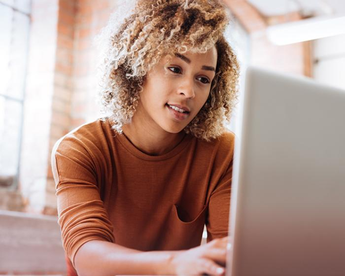 Online learning options through customized training and continuing education