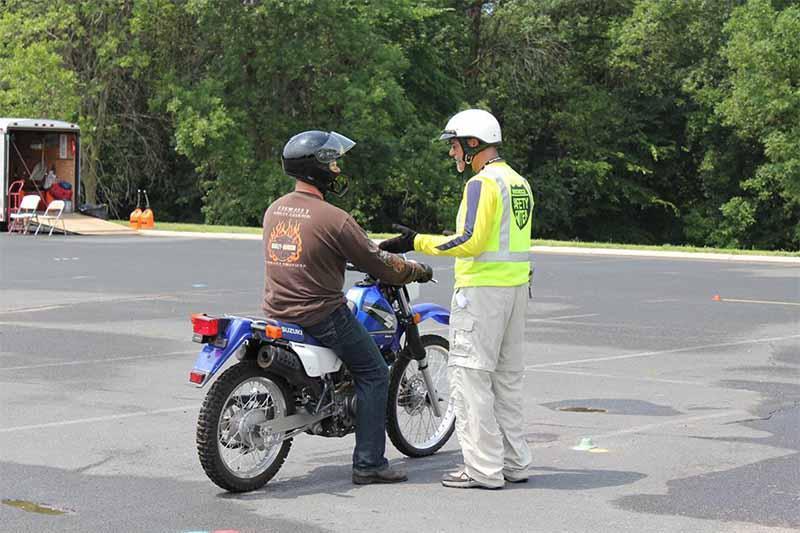 Basic motorcycle training