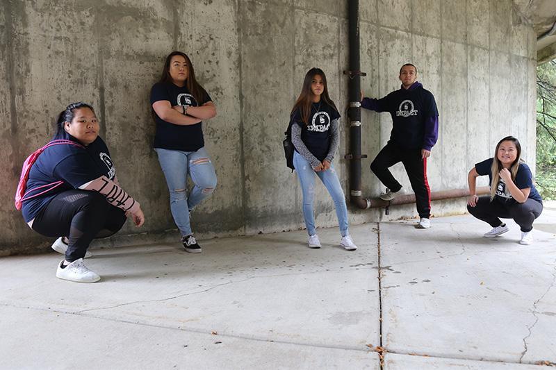 Image of IMPACT Program Students outside.