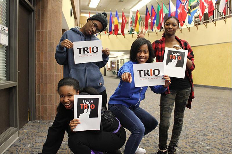 Image of TRIO Upward Bound counselors.