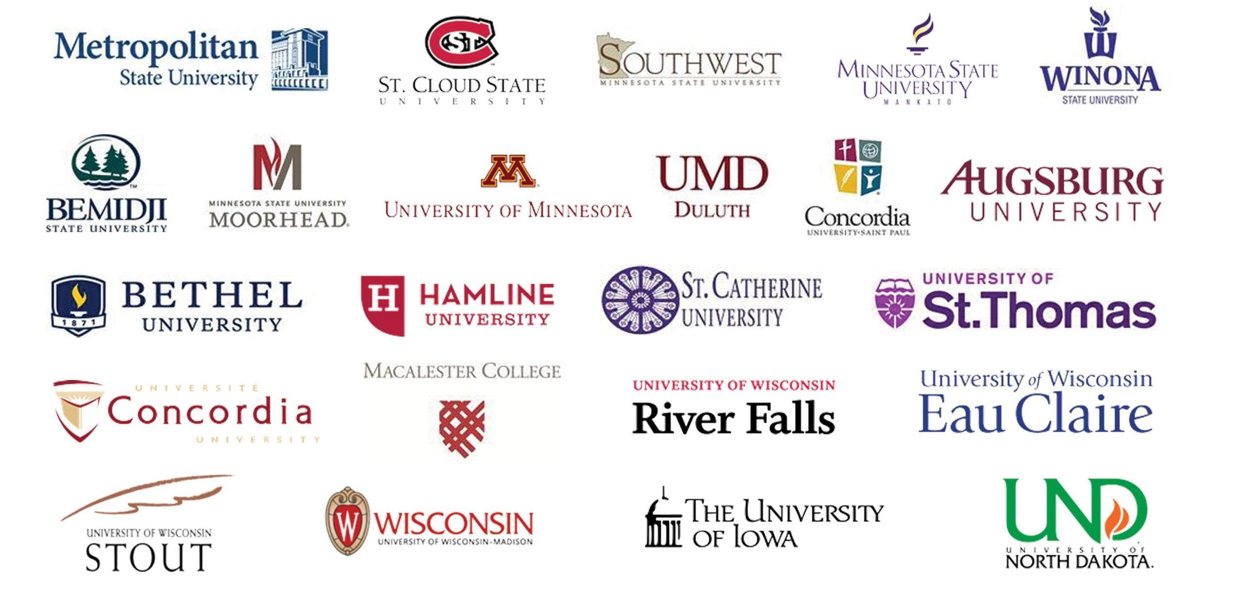 Summer Semester Four-Year Logos.