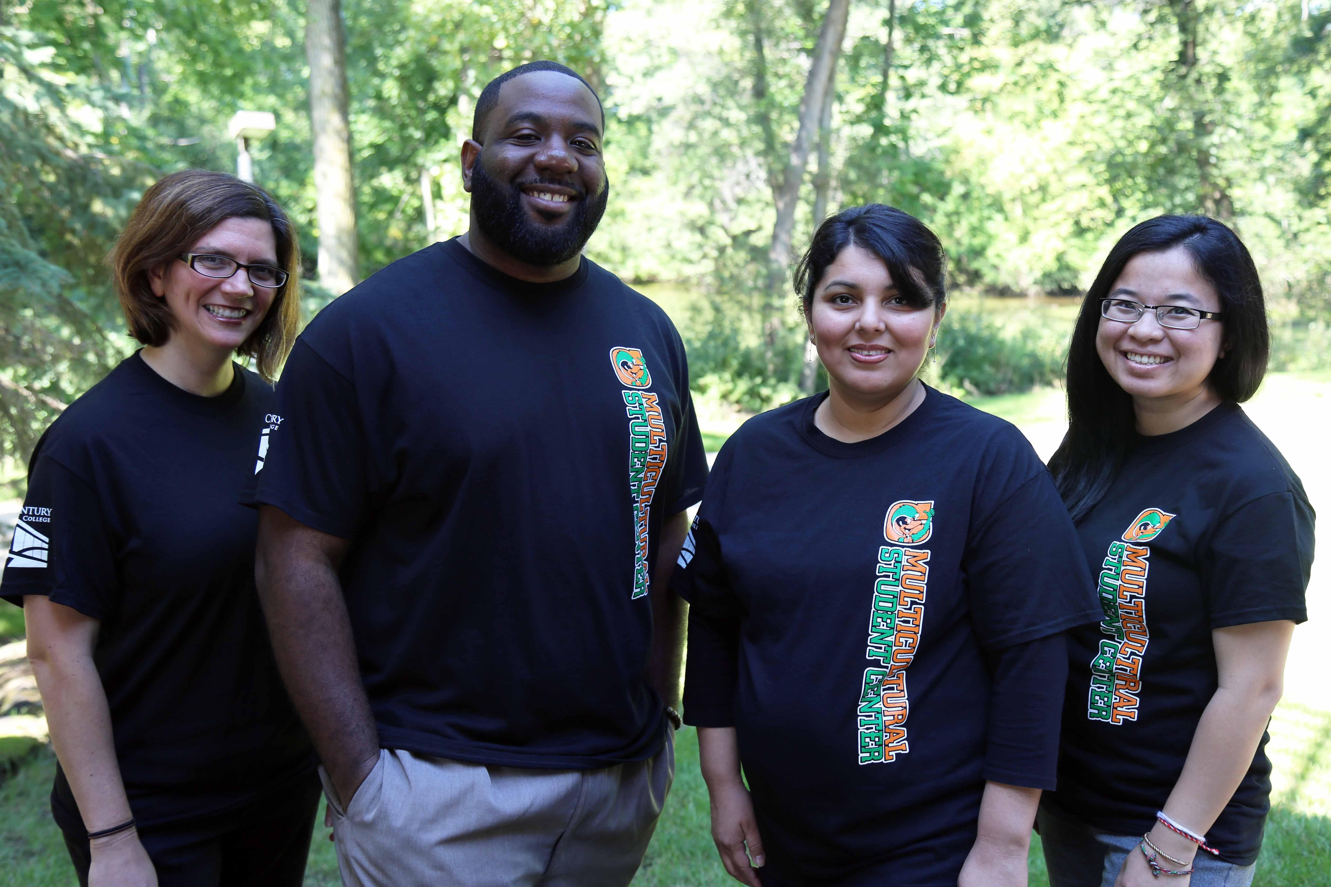 Multicultural Center staff members