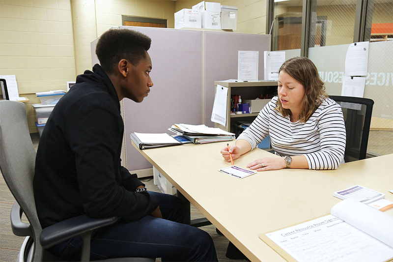 Career Services helping students