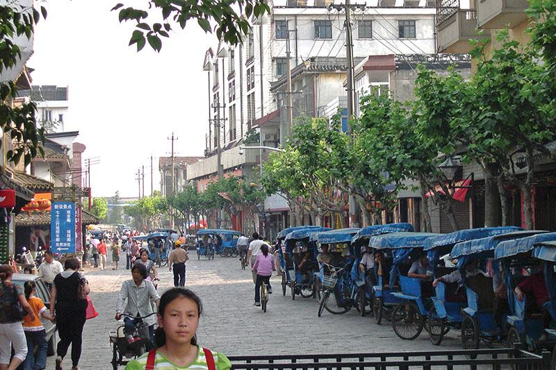 Image of asian town.