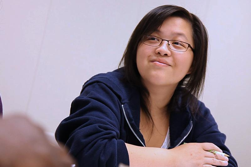 Image of student smiling.