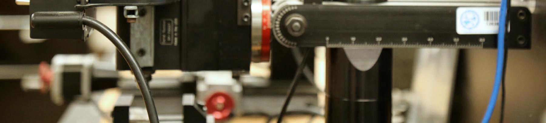 Close-up of digital fabrication lab tools.