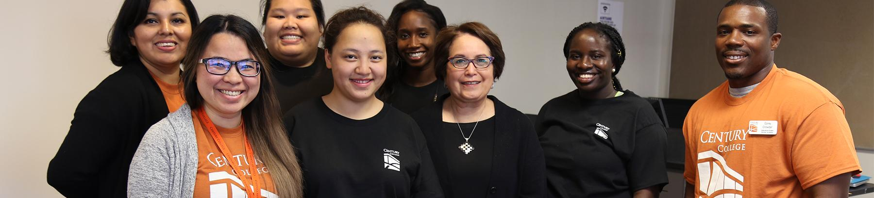 Group image of the Multicultural Center staff.