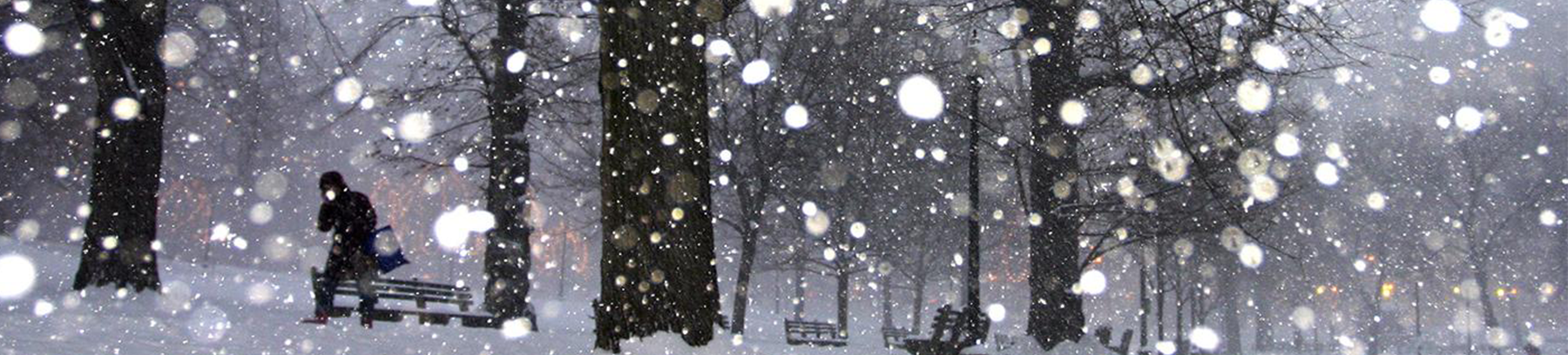 Century winter scene