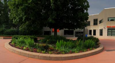 Outdoor photo of West Campus