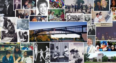 50 anniversary photo collage
